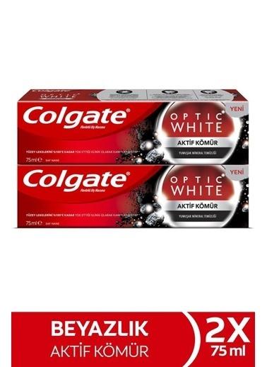 Colgate Colgate Optic White Aktif Kömür Yu,RNKSZ Renksiz